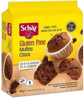 Dr.Schär Muffins Choco - Pacco da 4 x 260 g