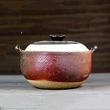 Praktisch Braadpan gerechten braadpan gerechten pot japanse donabe rijstkoker, hittebestendige keramische braadpan, gezond...