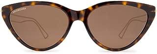Luxury Fashion   Balenciaga Womens BB0052S001 Brown Sunglasses   Fall Winter 19