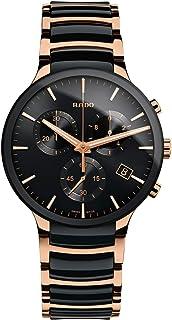 ساعت مچی مردانه Rado Centrix Chronograph Black Dial R30187172