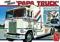 AMT 1/25 タイロン・マローン ケンワース エアロダイン トランスポーター パパ・トラック