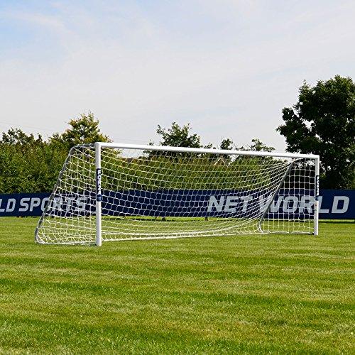FORZA Alu60 Fußballtore – hochwertiges und freistehendes Aluminium Tor – in 10 Größen erhältlich (4,9m x 2,1m)