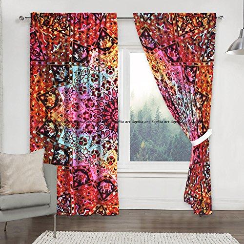 cortinas salon hippie