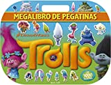 Trolls. Megalibro de pegatinas: Con 3000 pegatinas (Dreamworks....