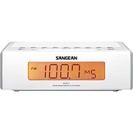 Sangean RCR-5 Digital AM/FM Alarm Clock Radio