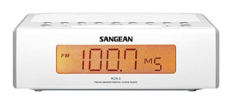 コントローラ合理化想定するSangean RCR-5 Digital AM/FM Clock Radio
