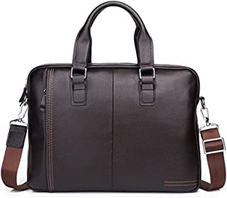 Mens Bag Thickness 8cm * Width 38cm * Height 29 * 13cm Business Black Computer Bag Waterproof File Package Large Capacity, Waterproof And Wear-resistant, Material Safety And Environmental Protection,