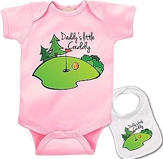 baby girl golf onesie