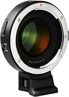 VILTROX EF-E II Speed Booster 0.71x Adaptador de Lente Enfoque automático para Canon EF Lente para Sony A7 A9 A7R A7S A6300 A6500 Soporte CDAF PDAF Enfoque/Ampliar Apertura/Reducir Enfoque