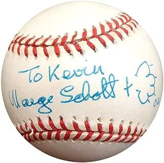 Marge Schott Autographed Official NL Baseball Cincinnati Reds Owner