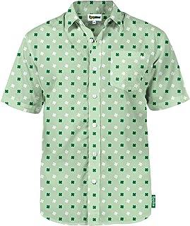 Men's St. Paddy's Day Hawaiian Shirts - St Paddy's Day Button Up Shirts