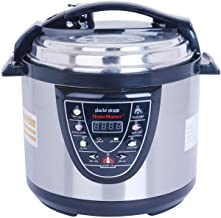 Electric Pressure Cooker 6 Liter - Home Master, Multi Color - HM-756