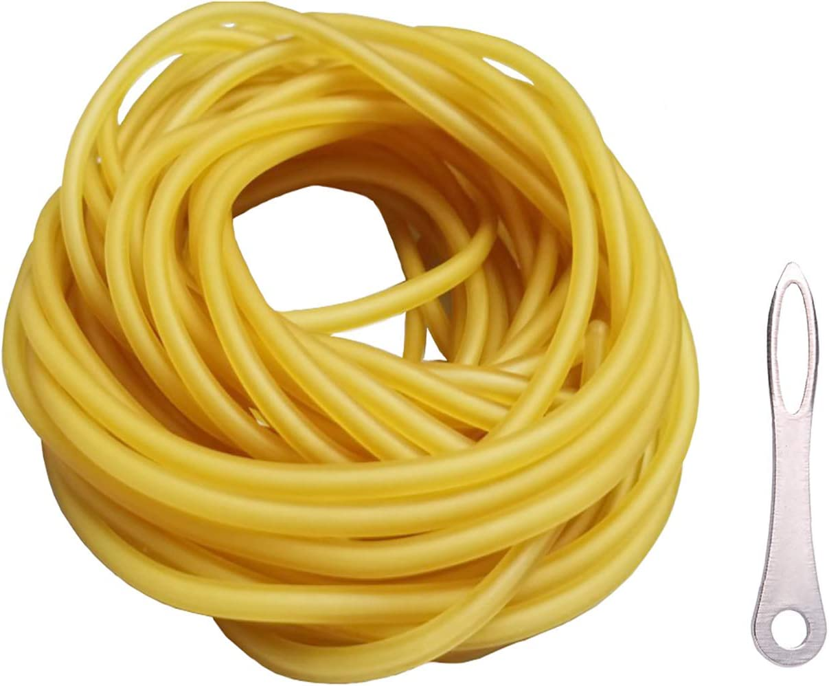 Schleuder Outlet ☆ Free Shipping Slingshot Rubber Bands Tubing Catapult 10m Replacemen Large discharge sale