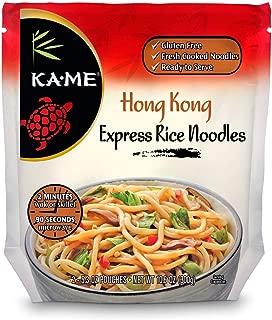 Ka-Me Express Rice Noodles, Hong Kong, 10.6 Ounce (Pack of 6)