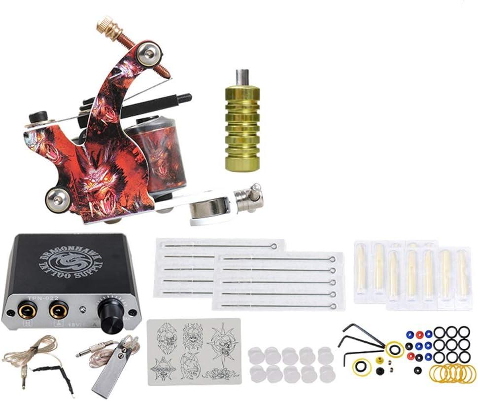 Complete 1 Tattoo Machine Gun Beginner Power Set Atlanta Mall Supply Tatt Super special price