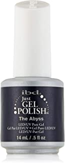 IBD Just Gel Nail Polish, The Abyss, 0.5 Fluid Ounce : Inky Deep Blue