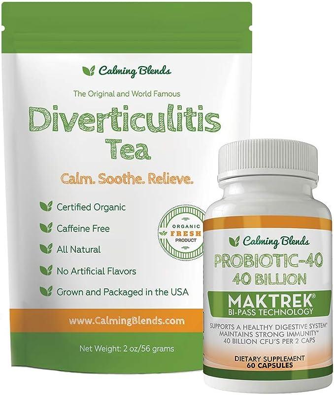 Diverticulitis Tea Probiotic