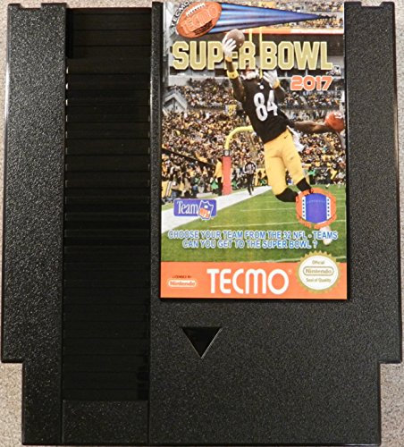 Tecmo Super Bowl 2017 - US Nintendo NES Cartridge