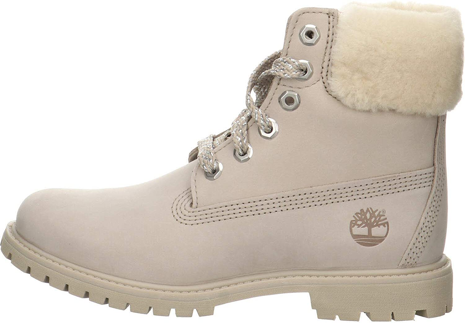 timberland 6 inch femme gris