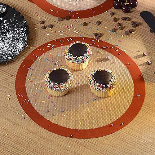 Plaque à biscuits en silicone durable, tapis de cuisson en silicone, fournitures de cuisson pour outils de cuisson de restaurant de cuisine à domicile