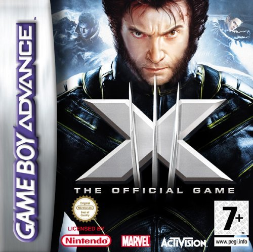 X-Men The Official Movie Game (GBA) by ACTIVISION