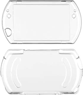OSTENT Protector Clear Crystal Hard Case Cover Skin Compatible for Sony PSP Go