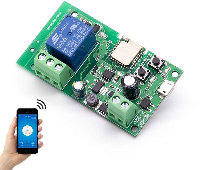 1004 opinioni per Módulo Relé Wifi funziona con Alexa/Google Home/Sonoff/Ewelink/IFTTT,