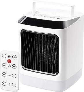 Huainiu Calefactor Ceramico Bajo Consumo, Portatil Calefactor 3 Viento Ajustable Giratorio, Calefactor Mando A Distancia Silencioso, Calefactor Ventilador Furgoneta Camper, BañO Y HabitacióN