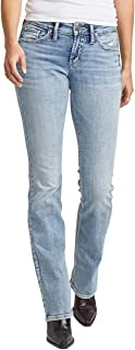 Women's Suki Curvy Fit Mid Rise Slim Bootcut Jeans