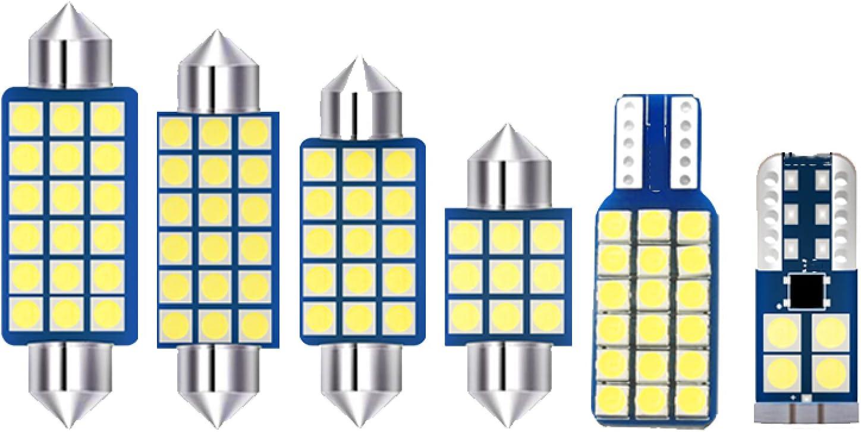 JTSGHRZ Car Max 53% OFF Interior Light 7pcs Kit LED Dome Bulbs Ranking TOP20