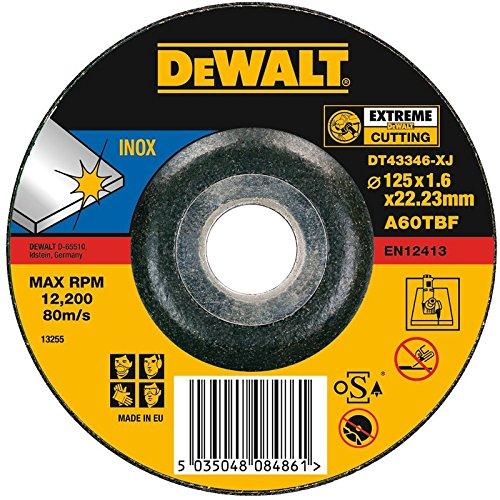DeWalt Disco diamantato Extreme, 125x 22,2x 1,6mm, dt43346XJ