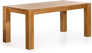 Marque Amazon -Alkove - Hayes - Table à rallonges en bois massif, 180cm, Chêne sauvage