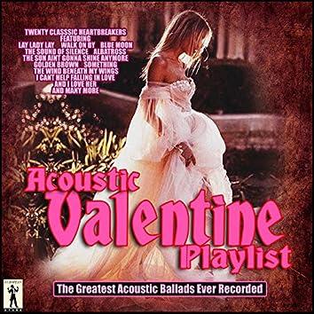 Acoustic Valentine Playlist