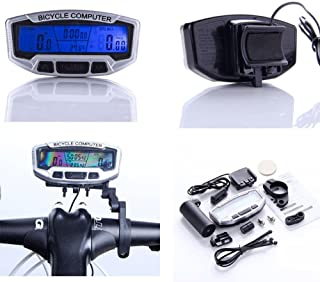 TOOGOO (R) Bici Cuentakilometro de pantalla LCD digital
