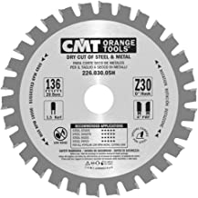 CMT Orange Tools 226.030.05H - Sierra circular para metales 136x1.5x20 z 30 fwf 5 grados