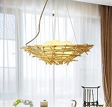 Chandeliers Indoor Lighting Ceiling Lighting Simple and Creative E27 chandeliers Restaurant lamp Bamboo Arts Rattan Japane...