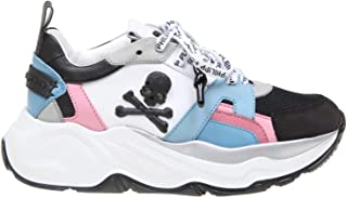 PHILIPP PLEIN Women's WSC1248PXV022N0203 Multicolor Leather Sneakers