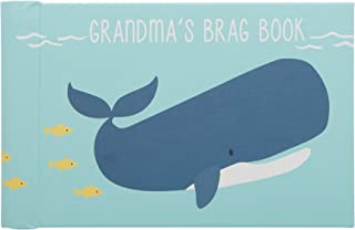 C.R. Gibson Grandma's Brag Book, by Carter's, 10 Sheets/20 Pages, Measures 4.5 x 7 - Under The Sea