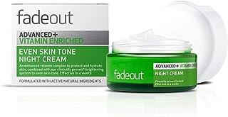 Fade Out Advanced+ Vitamin Enriched Even Skin Tone Night Cream, 50 ml, Green