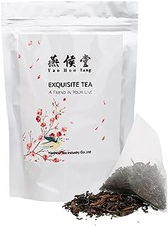 Yan Hou Tang Organic Taiwan White Oolong Tea bags Dong Fang Mei Ren Oriental Beauty - 50 Counts Queen Victoria Naming Honey Flavor Green Food Relaxation and Stress Reduction Relief Sachet US FDA SGS