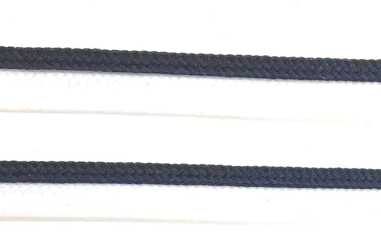 Navy Piping,Navy Cord Edge Trim on White Lip Weaved for Clothing Pillows, Lamps, Draperies 5 Yards Pi-128