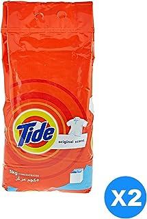 Tide Laundry Detergent Original Scent, 2 x 5 kg