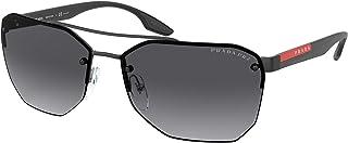 Prada - Sport Hombre gafas de sol PS 54VS, 1BO5W1, 63