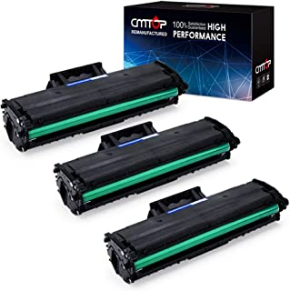 CMTOP 3 Black MLT-D111S Toner Compatible for Samsung 111S MLT-D111S MLT-D111L MLTD111S Toner Cartridge, High Yield, for Samsung Xpress M2020W M2070W SL-M2070W SL-M2020W SL-M2070FW/XAA Wireless Printer