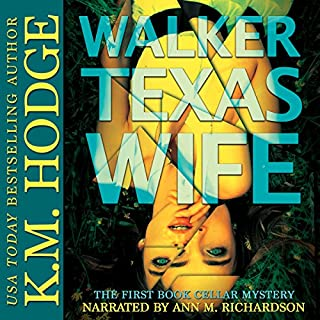 Walker Texas Wife audiobook cover art