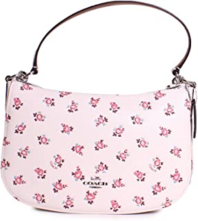 COACH Womens Chelsea Crossbody with Floral Bloom Print