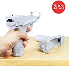 $22 » Wii Motion Plus Gun for Nintendo Wii Controller + Wii Shooting Games (White,Set of 2)