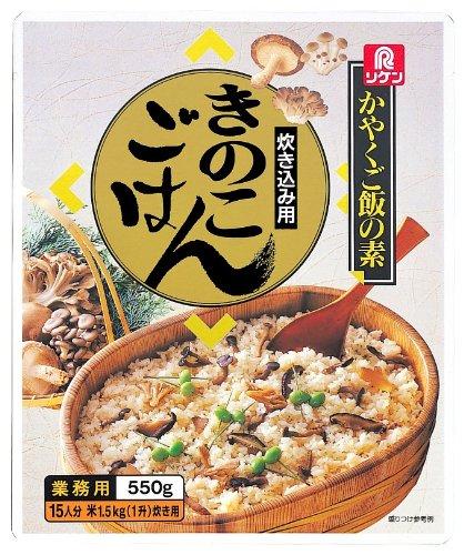 リケン かやくご飯の素 炊き込み用 きのこごはん 550g