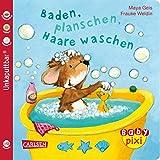 Baby Pixi 62: VE 5 Baden, planschen, Haare waschen (5 Exemplare) (62): Ein Baby-Buch ab 12 Monaten (Baby Pixi (unkaputtbar), Band 62)