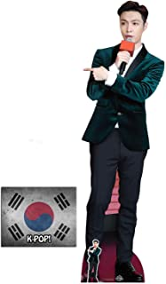 Lay (Zhang Yixing) Lifesize and Mini Cardboard Cutout Fan Pack, 181cm x 54cm Includes 8x10 Star Photo